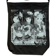 Love Live! Sunshine!! Kanan Dia Mari Black Shoulder Tote Bag