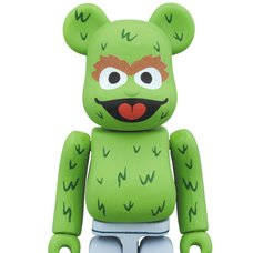 BE@RBRICK Oscar The Grouch 100%