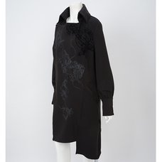 Ozz Croce Asymmetrical Long Coat