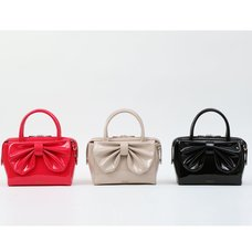Honey Salon Big Ribbon Boston Bag