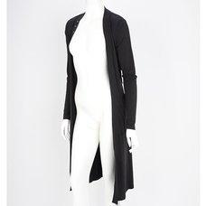 Rozen Kavalier Embroidered Arabesque Long Cardigan
