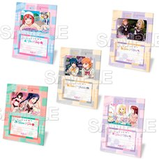 Love Live! Sunshine!! Nakayoshi Photo Stand w/ Bromide Collection