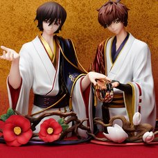 Statue & Ring Style Code Geass: Lelouch of the Rebellion Lelouch Lamperouge & Suzaku Kururugi