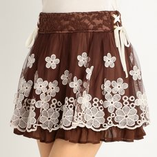 LIZ LISA Lacy Sukapan Skirt