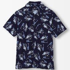 Steins;Gate Time Machine Aloha Shirt