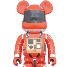 BE@RBRICK 1000% Space Suit Orange Ver.