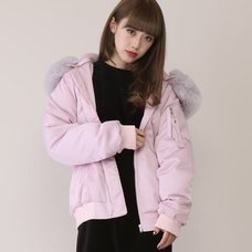 Honey Salon Voluminous Fur Blouson