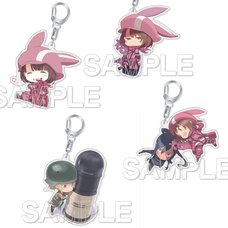 Sword Art Online Alternative: Gun Gale Online Acrylic Keychain Collection