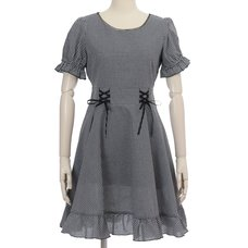 LIZ LISA Gingham Check Dress