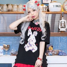 LISTEN FLAVOR Bandage Bunny Lace-Up Cutsew