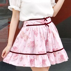 LIZ LISA Grape Rose Sukapan Skirt