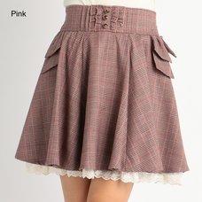 LIZ LISA Glen Plaid Skirt