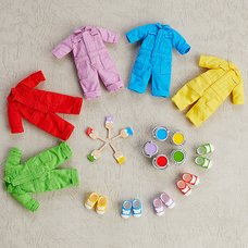 Nendoroid Doll: Outfit Set (Colorful Coveralls)
