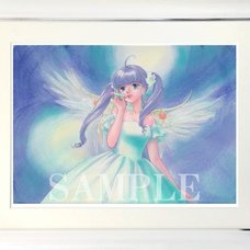 Magical Angel Framed Art Print