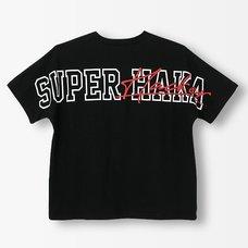 Steins;Gate Super Haka Black T-Shirt