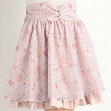 LIZ LISA Ballerina Print Skirt