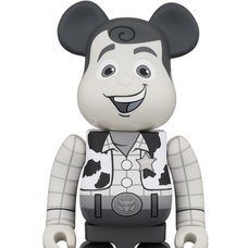 BE@RBRICK Toy Story Woody Black & White Ver. 400%