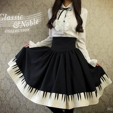 NO.S PROJECT Piano Skirt