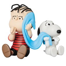 Ultra Detail Figure Peanuts Series 9: Linus & Snoopy