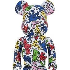 BE@RBRICK Keith Haring 1000%