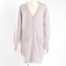 E Hyphen World Gallery BonBon Fuwa Fuwa Heart Cardigan