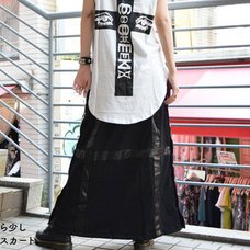 ACDC RAG Cross Long Skirt