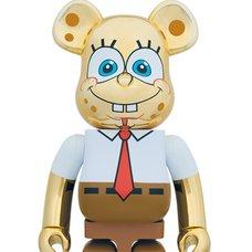 BE@RBRICK SpongeBob Gold Chrome 1000%