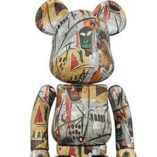Super Alloy BE@RBRICK Jean-Michel Basquiat