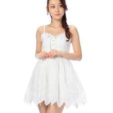LIZ LISA Embroidered Hem Dress w/ Official LIZ LISA Shop Bag