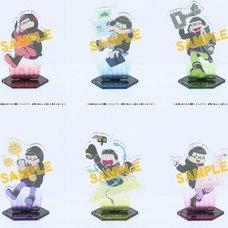 Osomatsu-san Cosplay Acrylic Keychain w/ Display Stand