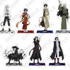 Bungo Stray Dogs Acrylic Stand Figure Collection Season 3  Key Visual Ver.