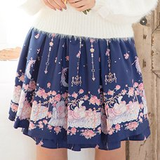 LIZ LISA Goodnight Rabbit Sukapan Skirt