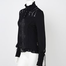 Rozen Kavalier Printed Standing Collar Cutsew