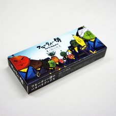 "Flip Book Series Fruity Samurai ""The Land of Fruity Samurai"""