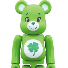 BE@RBRICK Care Bears Good Luck Bear 100%