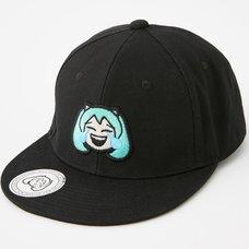 Miku Moji Embroidery Cap