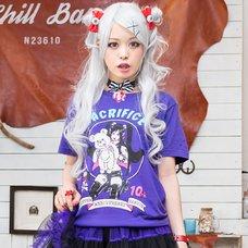 LISTEN FLAVOR Vampire Girl Anniversary T-Shirt