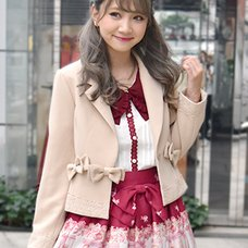 LIZ LISA Many Ribbons Jacket