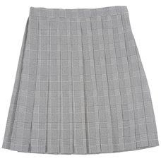 Teens Ever Glen Check High School Uniform Skirt