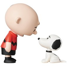 Ultra Detail Figure Peanuts Series 9: Charlie Brown & Snoopy 50's