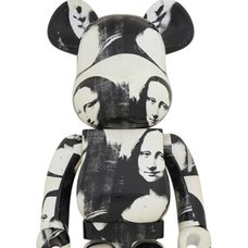 BE@RBRICK Andy Warhol Double Mona Lisa 1000%