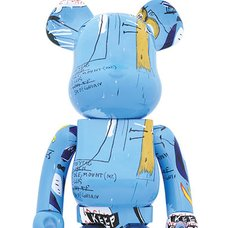 BE@RBRICK Jean-Michel Basquiat Vol. 4 1000%