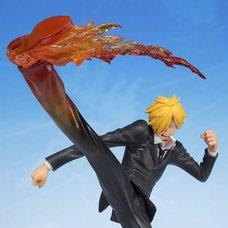 FiguartsZero One Piece Sanji - Diable Jambe Premier Hachis