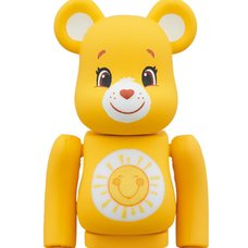 BE@RBRICK Care Bears Funshine Bear 100%