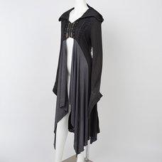 Rozen Kavalier Autumn Hooded Long Cardigan