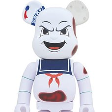 BE@RBRICK Ghostbusters Stay Puft Marshmallow Man Anger Face 1000%