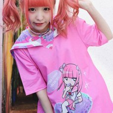 ACDC RAG Menhera-chan Short Sleeve Sailor T-Shirt