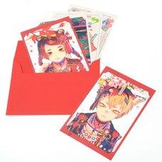 Akiakane Postcard Set: Red