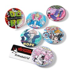 LISTEN FLAVOR Danganronpa: Trigger Happy Havoc Tin Badges