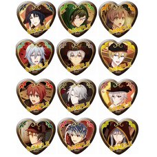 IDOLiSH 7 Character Badge Collection: Valentine Great Escape Box Set